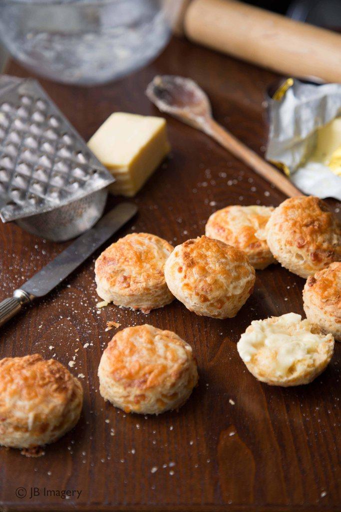 Cheese scones watermark
