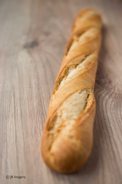 Fresh bread - Crusty french baguette