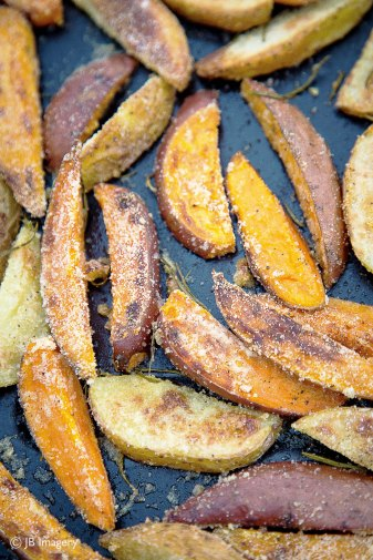 Sweet Potato Wedges W