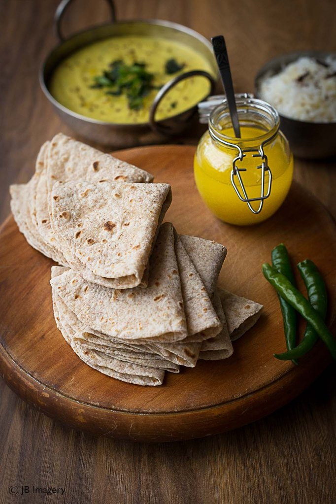 Daal and Chapatis