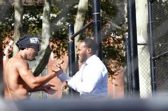 Buff men in Brooklyn!