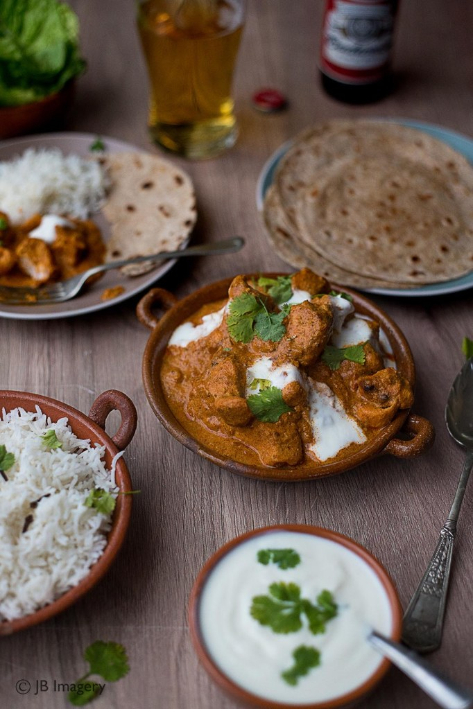 Butter chicken 1 w