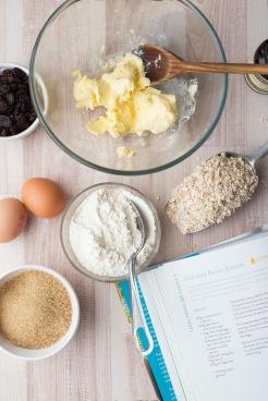 Oatmeal and raisin cookies 1