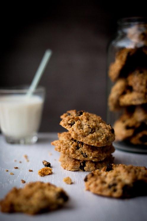 Oatmeal and Raisin Cookies 8