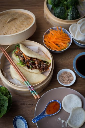 Chinese steamed buns 1