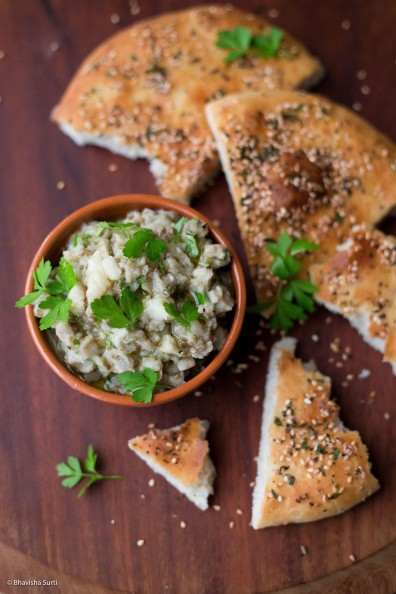 Baba Ganoush and Flatbread