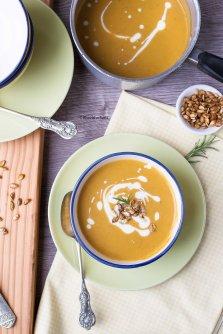 Butternut squash soup 1