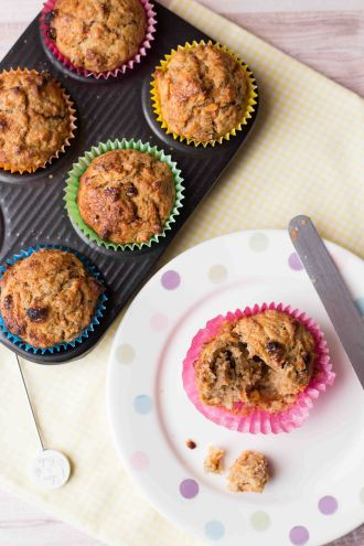 Carrot Muffins 2