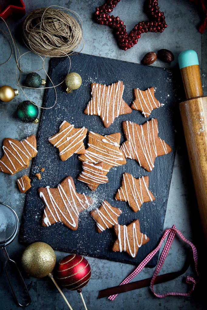 Gingerbread Stars-web